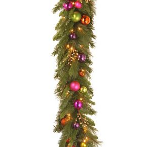 National Tree Co. 6-ft. Kaleidoscope Garland & Battery Operated Warm White LED Lights