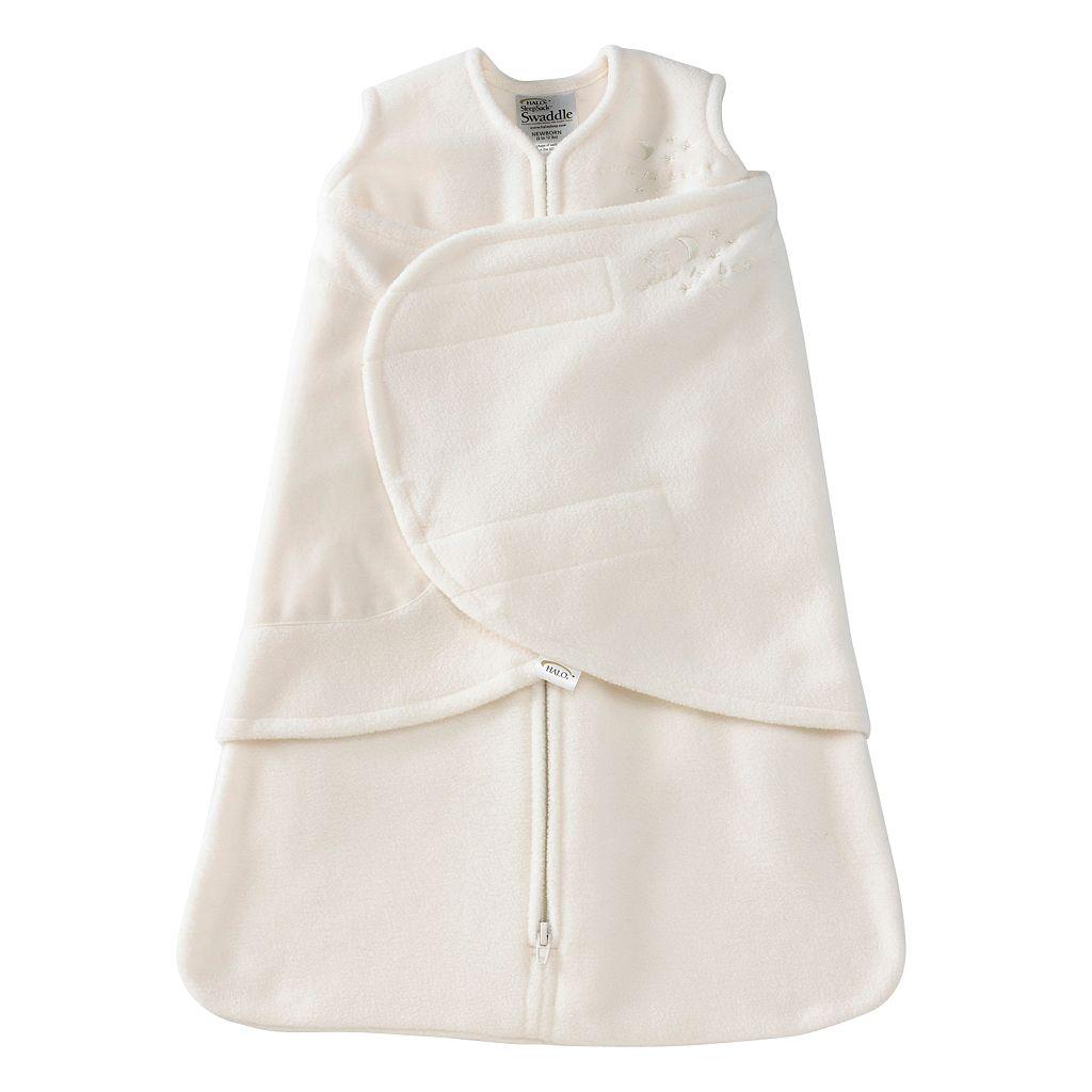 HALO® Fleece SleepSack™ Swaddle Set - Cream