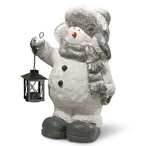National Tree Company 16in. Snowman Décor Candleholder
