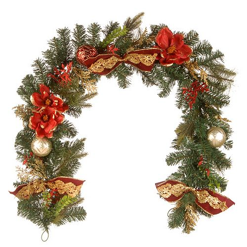 National Tree Company 6 ft. Decorated Garland