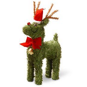 "National Tree Company 12"" Evergreen Reindeer"