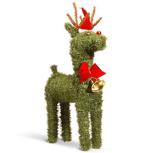"National Tree Company 16"" Evergreen Reindeer"