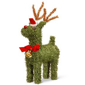 "National Tree Company 8"" Evergreen Reindeer"