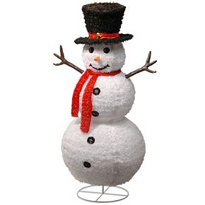 "National Tree Company 48"" Pop-Up Snowman"