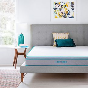 Linenspa Signature 8-in. Memory Foam Hybrid Mattress