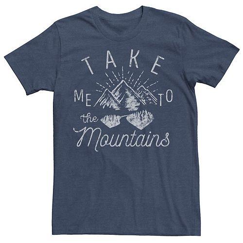 Men's Take Me To The Mountains Line Art Tee