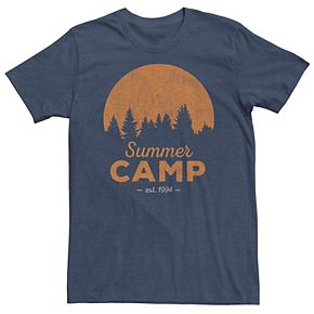 Men's Distressed Summer Camp Tee