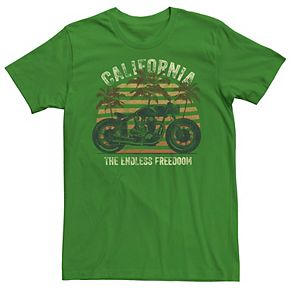 Men's California The Endless Freedom Motorcycle Tee