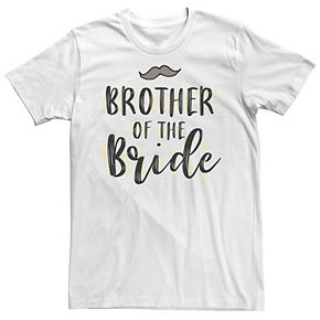 Men's Brother Of The Bride Tee