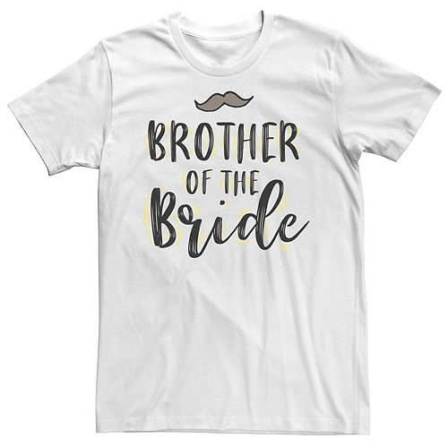 Men's Brother Of The Bride Tee