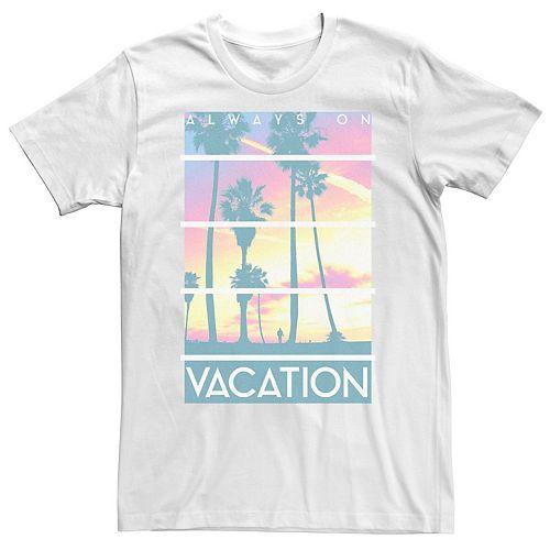 Men's Always On Vacation Tee