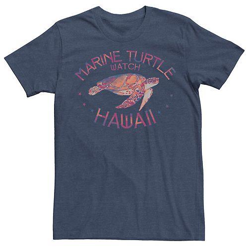 Men's Marine Turtle Watch Hawaii Tie Dye Tee