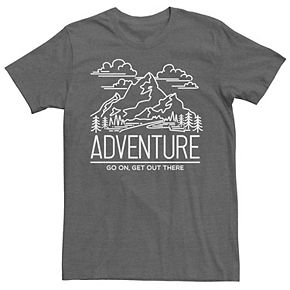 Men's Adventure Go On Get Out There Destination Tee