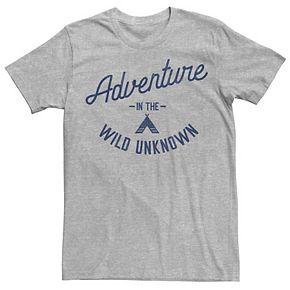 Men's Adventure In The Wild Unknown Tee