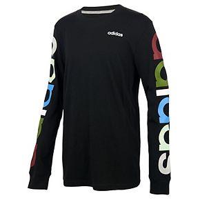 Boys 8-20 adidas Multicolored Logo Tee