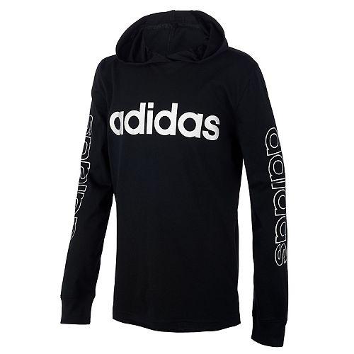 Boys 8-20 adidas Lightweight Hooded Logo Tee