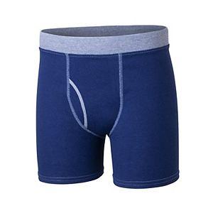 Boys Hanes Ultimate® 5-Pack Comfort Cotton Boxer Briefs