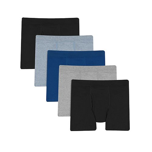 Boys 8-20 Hanes 5-Pack Ultimate Boxer Briefs