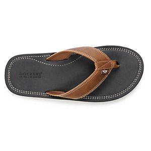 Men's Dockers® Premium Memory Foam Upper Flip Flop