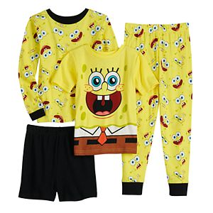 Boys 4-10 Nickelodeon SpongeBob SquarePants Tops & Bottoms Pajama Set