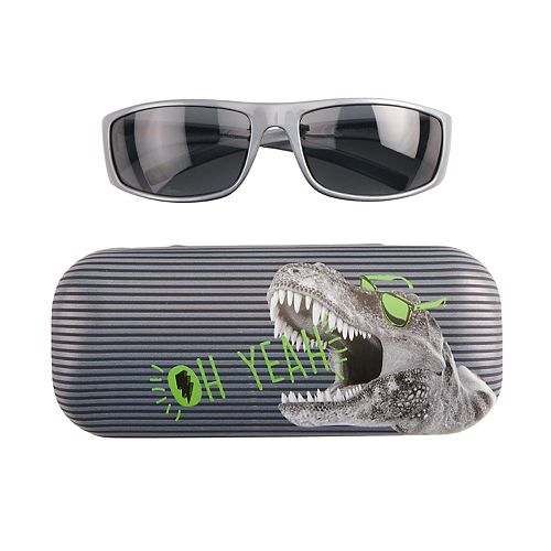 Boys Capelli Sunglasses & Case 2-Pc. Jawsome Set