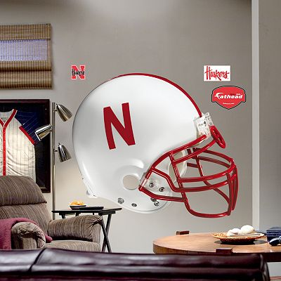 Fathead University of Nebraska Cornhuskers Helmet Wall Decal
