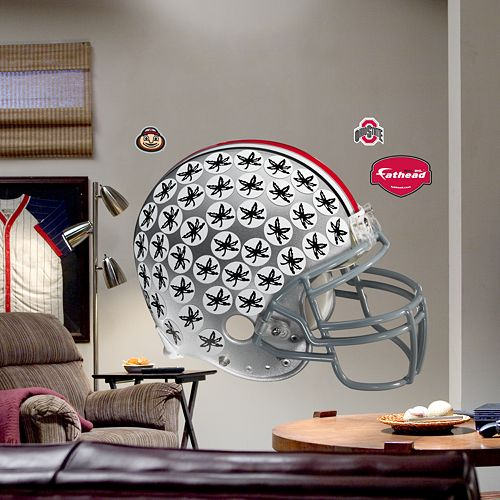 Fathead® Ohio State University Buckeyes Helmet Wall Decal