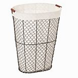 Oval Chicken Wire Hamper