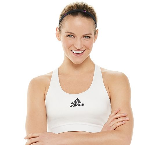 Women's adidas Don't Rest Alphaskin Medium Support Sports Bra