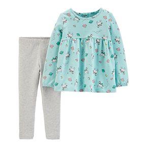 Toddler Girl Carter's Unicorn Top & Leggings Set