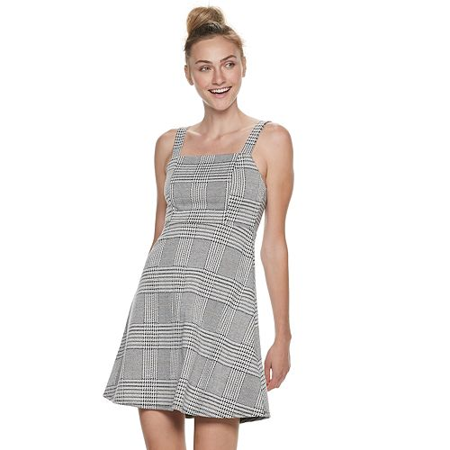 Juniors' SO® Sleeveless Strappy A-Line Mini Dress
