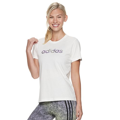 Women's adidas Embroidered Logo Graphic Tee