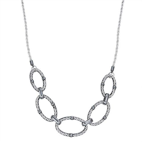 Dana Buchman Rope Chain Link Frontal Necklace