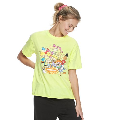 Juniors' Nickelodeon Kiddos Graphic Tee