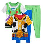 Disney / Pixar Toy Story 4 Baby Boy 4 Piece Buzz & Woody Pajama Set