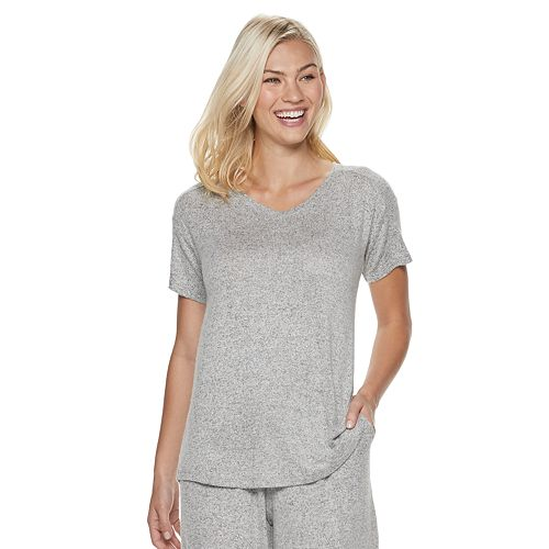 Women's SONOMA Goods for Life™ Forward Drop Shoulder Sleep Top