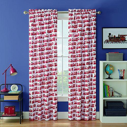 Waverly Kids Express Train Blackout Window Curtain