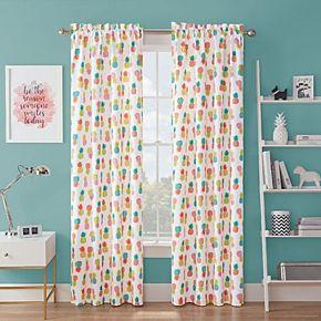 Waverly Spree Fineapple Blackout Window Curtain