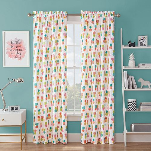 Waverly Spree Fineapple Blackout Window Curtain