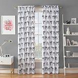 Waverly Spree Zebra Crossing Blackout Window Curtain