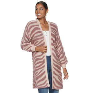 Women's Jennifer Lopez Balloon Sleeve Cardigan