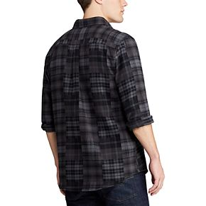 Big & Tall Chaps Go Untucked Button-Down Shirt