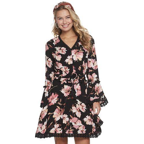 Juniors' American Rag Bell-Bella Dress