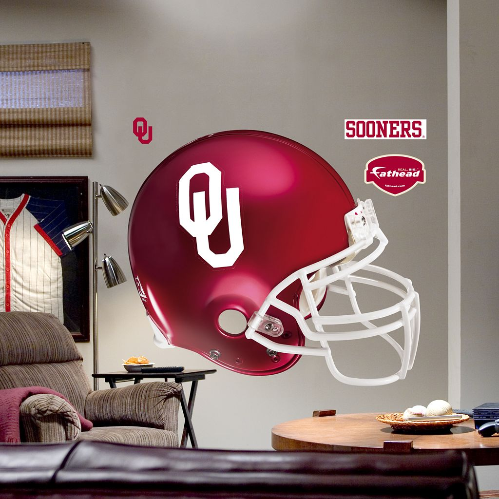 Fathead® University of Oklahoma Sooners Helmet Wall Decal