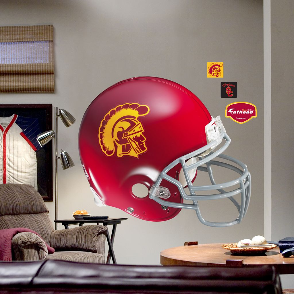 Fathead® University of Southern California Trojans Helmet Wall Decal