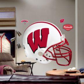 Fathead University of Wisconsin Badgers Helmet Wall Decal