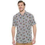 Big & Tall Unionbay Poolside Printed Button-Down Shirt