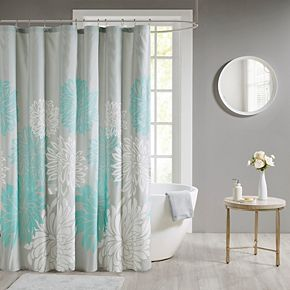 Madison Park Caldwell Printed Floral Shower Curtain