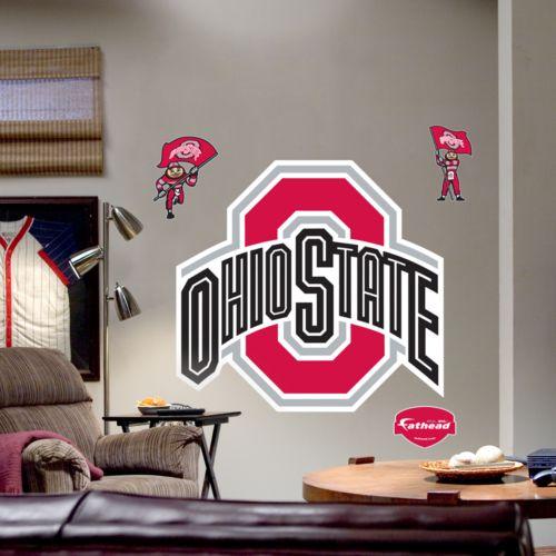 Fathead Ohio State University Buckeyes Logo Wall Decal