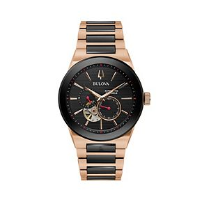 Bulova Men's Latin Grammys® Two Tone Stainless Steel Automatic Watch - 98A236
